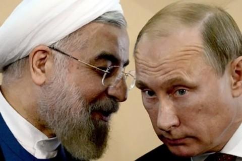 İran Cumhurbaşkanı Ruhani ve Rusya Devlet Başkanı Putin