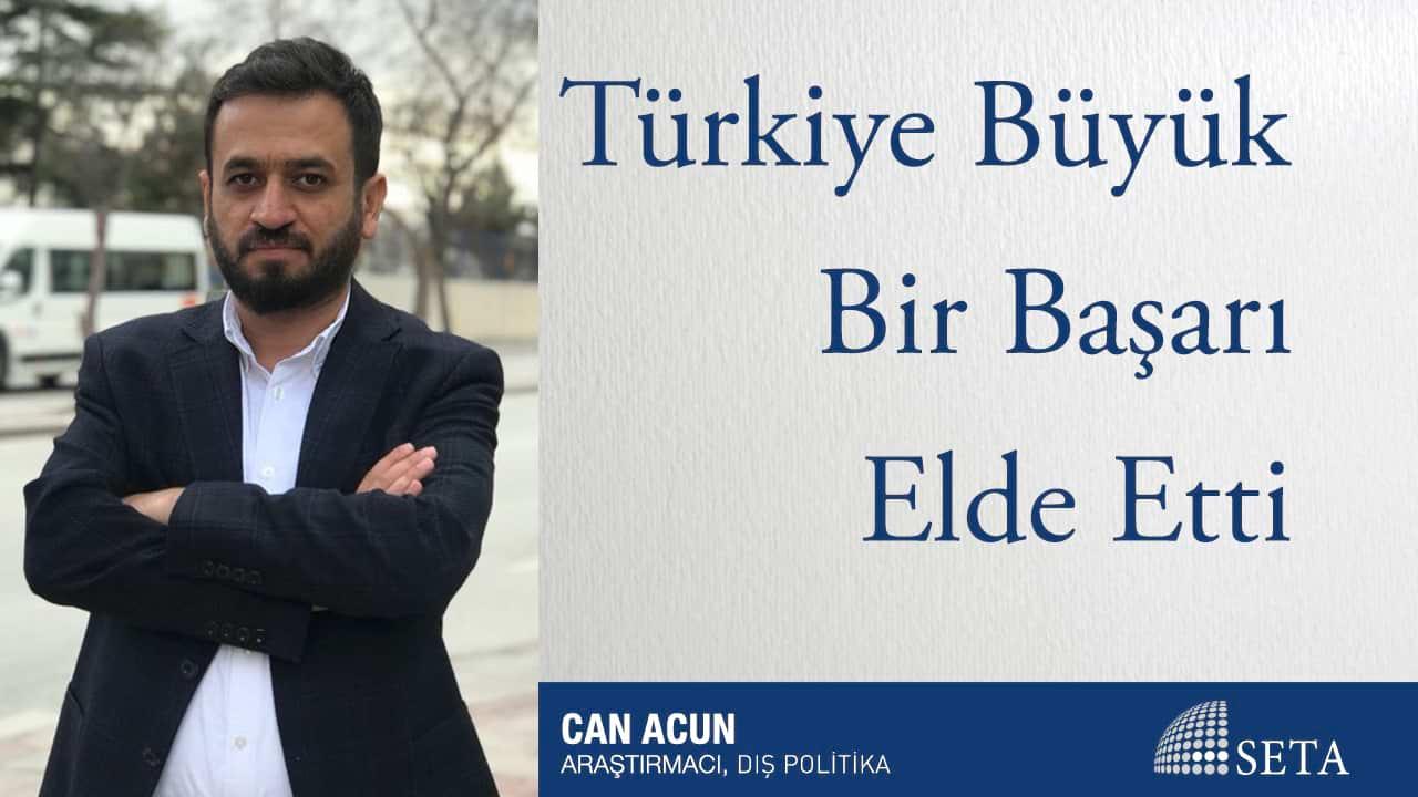 Türkiye Büyük Bir Başarı Elde Etti