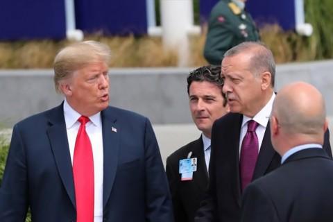 Cumhurbakanı Recep Tayyip Erdoğan ve ABD Başkanı Donald Trump