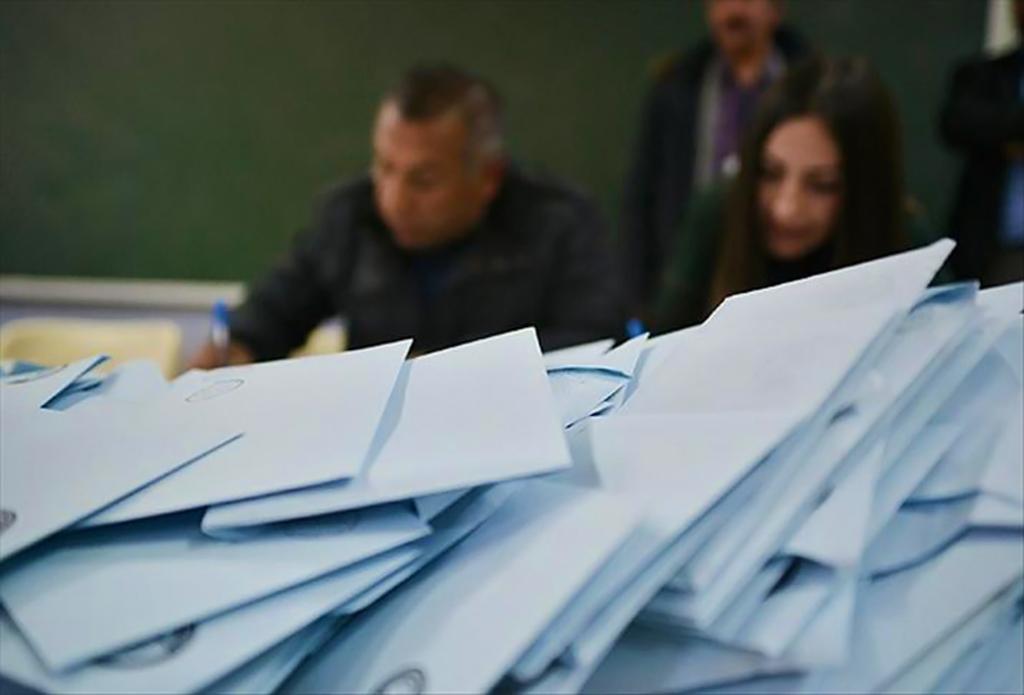 Yerel Seçim Sandığından Çıkan Oylar