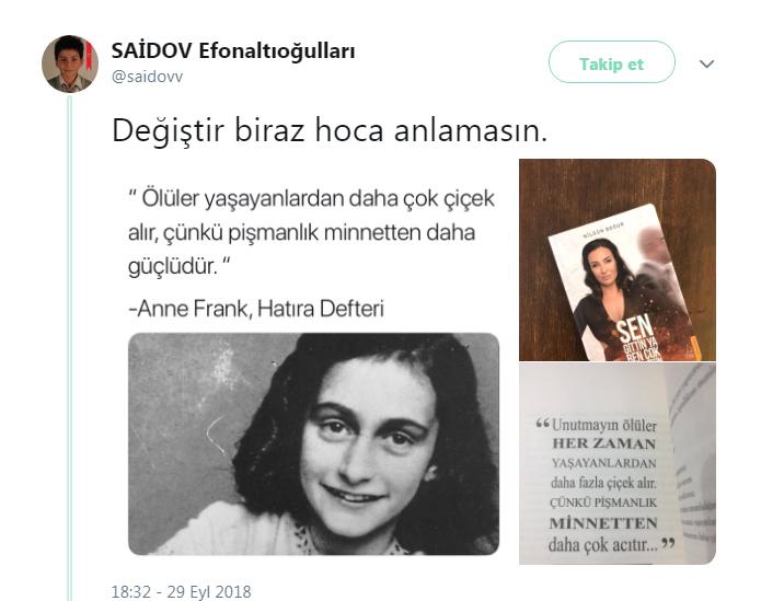 Nilgün Bodur - Anne Frank
