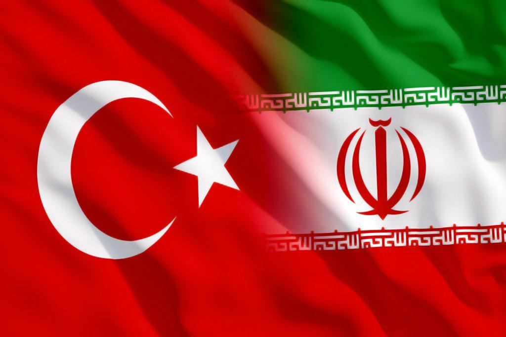 Türkiye - İran Bayrakları