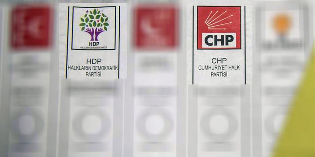 CHP - HDP oy pusulası