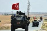Temmuz 2018 | Türk Silahlı Kuvvetleri (TSK), Fırat Kalkanı harekat alanı ile Münbiç hattında arasında devriye görevini yaparken.