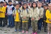 Yozgat'ta ilkokul öğrencileri
