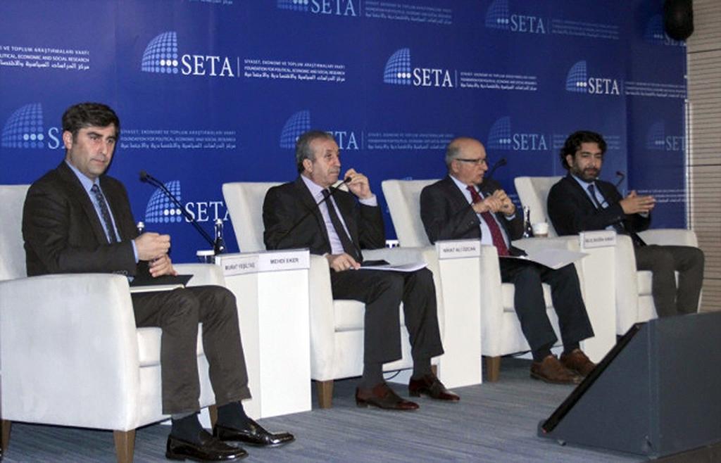 """SETA'da """"Münbiç Yol Haritası ve Türk-Amerikan İlişkileri"""" Paneli"""