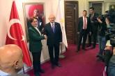 Meral Akşener ve Kemal Kılıçdaroğlu