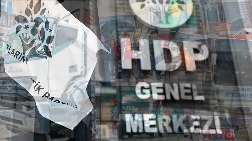 Kayyum Atanan Belediyeler ve HDP