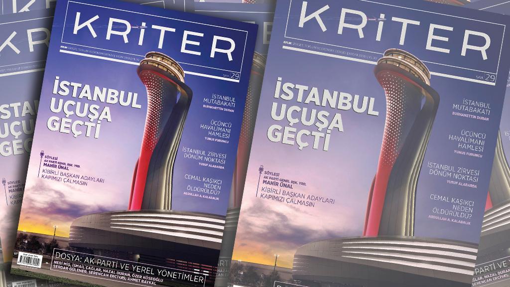 Kriter'in Kasım Sayısı Çıktı: İstanbul Uçuşa Geçti