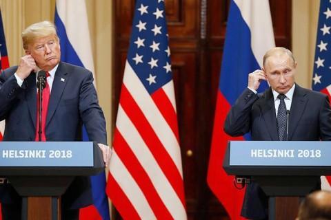 ABD Başkanı Donald Trump (solda) ve Rusya Devlet Başkanı Vladimir Putin (sağda)