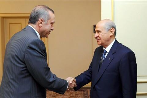 Recep Tayyip Erdoğan - Devlet Bahçeli