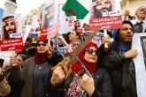 27 Kasım 2018 | Arap Dünyasında bir ilk: Tunus'ta yüzlerce kişi Suudi Arabistan Veliaht Prensi Muhammed bin Selman'ı Gazeteci Cemal Kaşıkçı'nın cinayeti nedeniyle suçlayarak protesto etti.