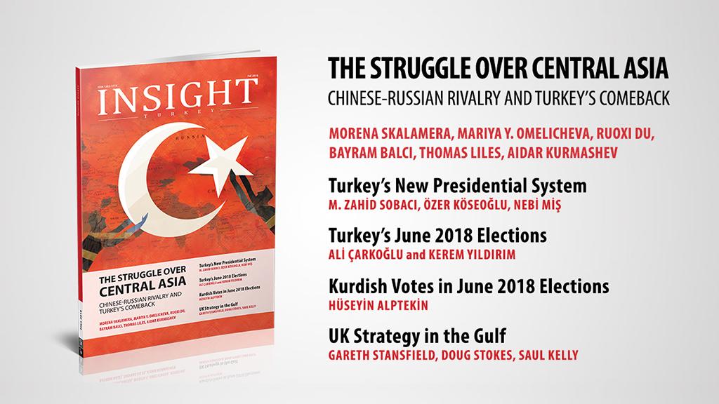 """Insight Turkey Dergisi'nin """"Orta Asya'da Mücadele: Çin-Rus Rekabeti ve Türkiye'nin Geri Dönüşü"""" Konulu Özel Sayısı Yayınlandı"""