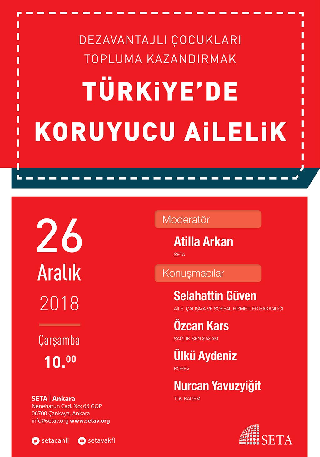Panel: Dezavantajlı Çocukları Topluma Kazandırmak | Türkiye'de Koruyucu Ailelik