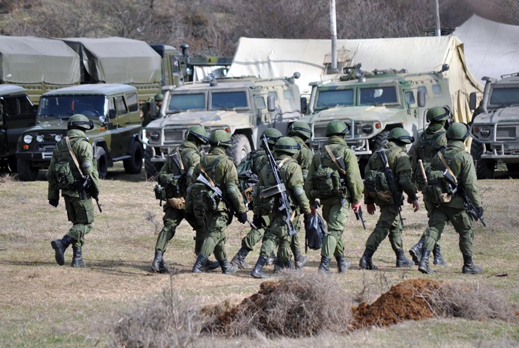 Ukrayna sınırında Rus askerleri