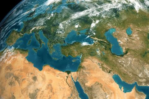 Uzaydan Yerküre Türkiye