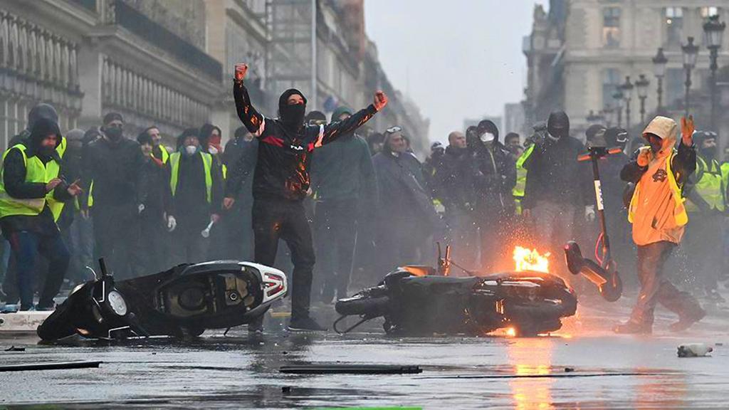 Sarı Yelekliler | Paris | Fransa