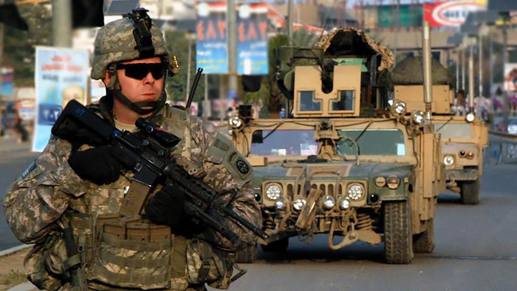 Suriye'de Amerikan Askerleri