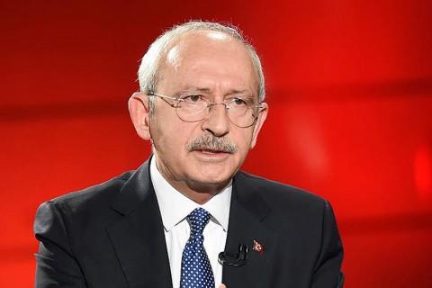 CHP Lideri Kemal Kılıçdaroğlu