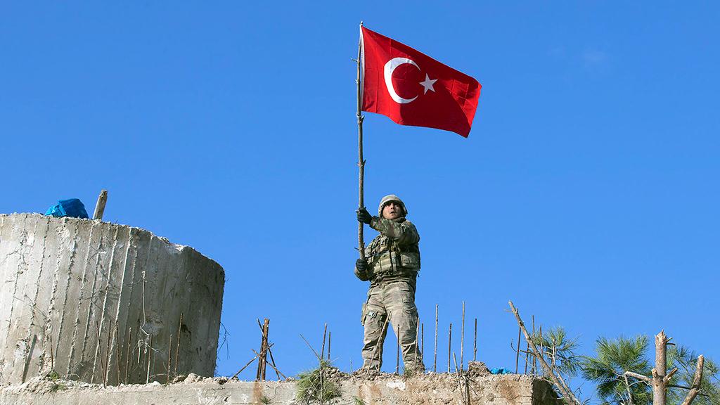 28 Ocak 2018 | Burseya Dağı'na Türk Bayrağı dikildi. Suriye'de icra Zeytin Dalı Harekatı'nda Afrin'in kuzeydoğusundaki stratejik Burseya Dağı, PYD/PKK'dan ele geçirildi.
