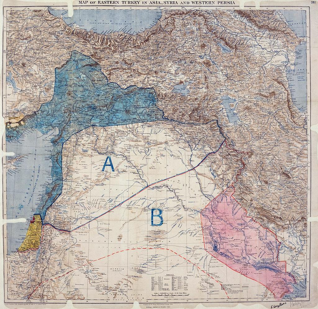 Sykes-Picot Version 2 Çöpe Gitti
