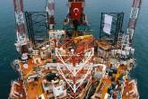 30 Kasım 2019 | Oruç Reis ve Barbaros Hayreddin Paşa gemileriyle sismik araştırmalara devam eden Türkiye, derin denizde Fatih gemisiyle başlattığı petrol ve doğal gaz arama çalışmalarına, Mersin açıklarında sığ deniz faaliyetlerini de ekledi. (AA)