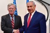 6 Ocak 2019 | ABD Başkanı Donald Trump'ın Ulusal Güvenlik Danışmanı John Bolton (solda) ile İsrail Başbakanı Binyamin Netanyahu (sağda), Batı Kudüs'teki Başbakanlık Ofisi'nde ortak basın toplantısı düzenledi. (AA)