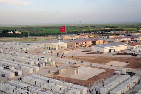 Suriyeli Sığınmacı Kampı