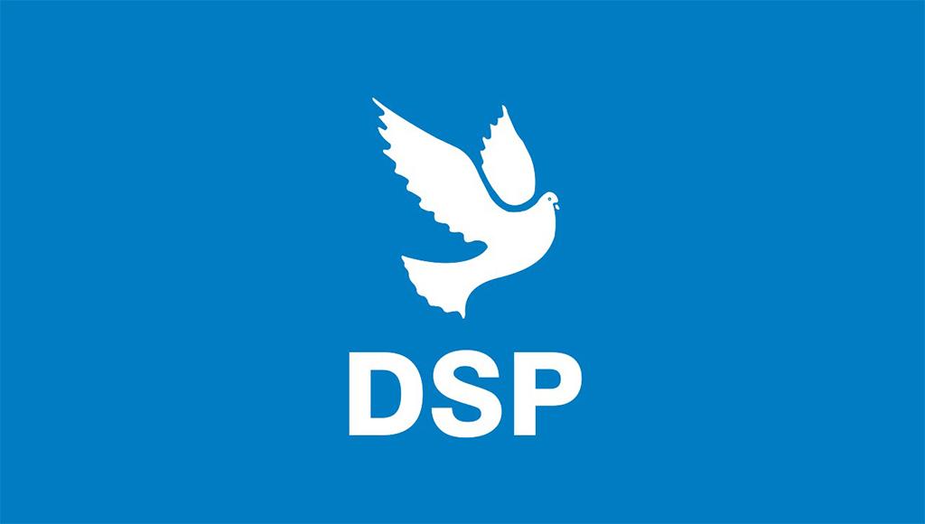 DSP | Demokratik Sol Parti | Logo