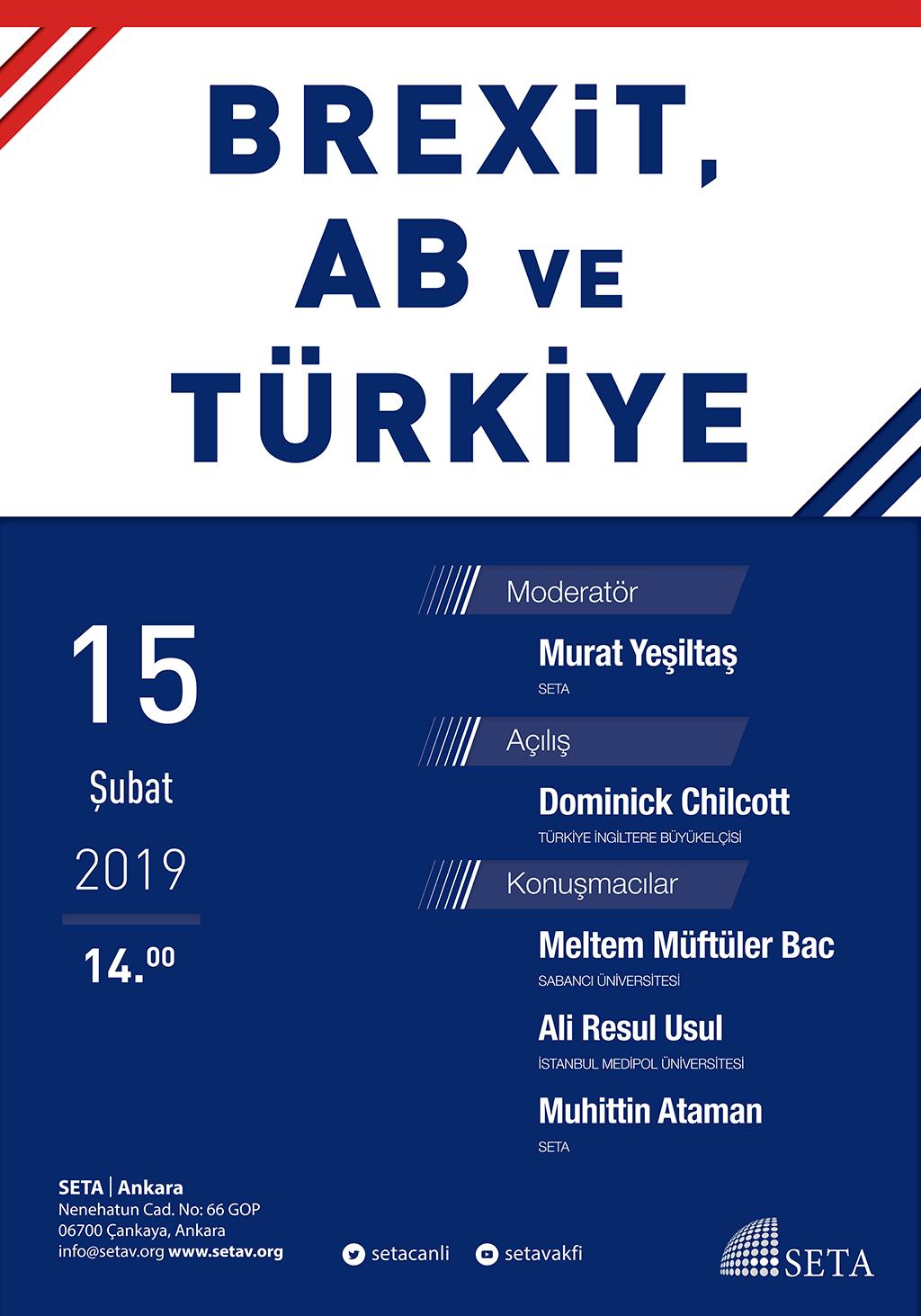 Panel Brexit, AB ve Türkiye