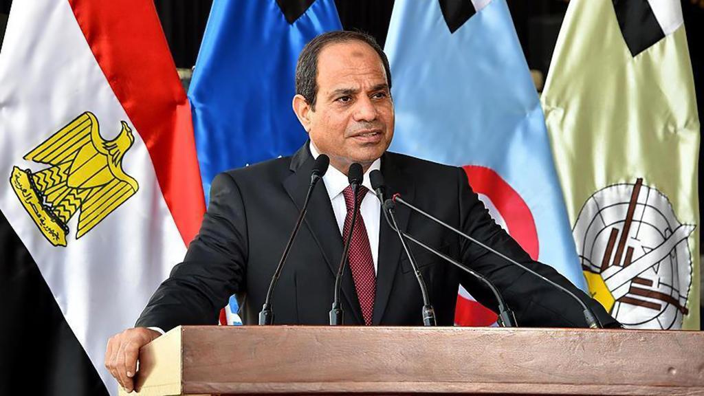 Mısır cumhurbaşkanı Abdülfettah Said Hüseyin Halil es-Sisi
