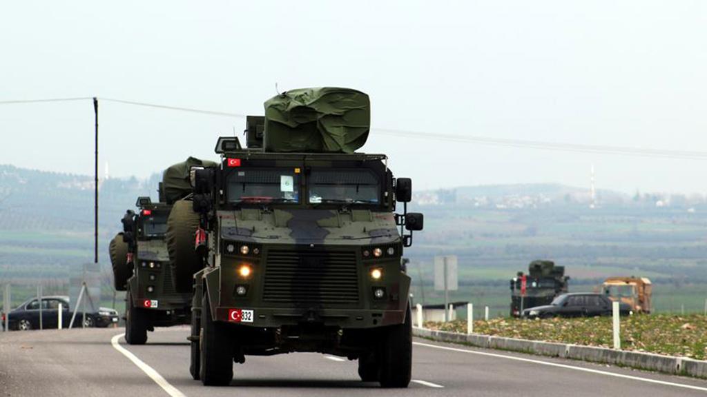 17 Şubat 2019 | Türk Silahlı Kuvvetleri tarafından Suriye sınırındaki askeri birliklere komando takviyesi yapıldı. (AA)