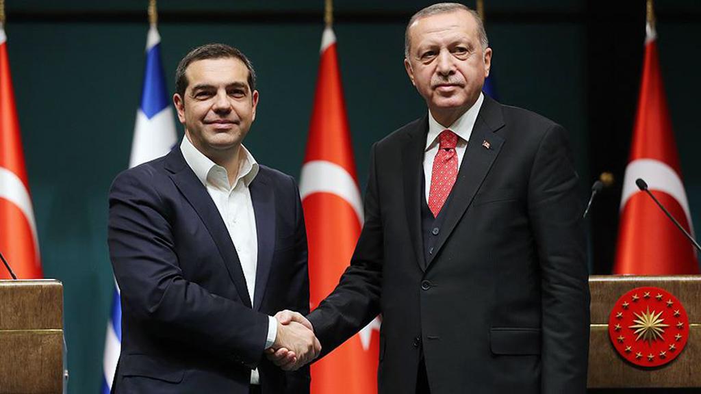 6 Şubat 2019 | Yunan basını, Başbakan Aleksis Çipras'ın Cumhurbaşkanı Recep Tayyip Erdoğan ile görüşmesine ilk sayfalarında geniş yer verdi. (AA)