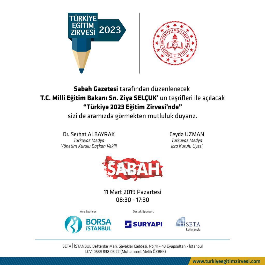 Türkiye 2023 Eğitim Zirvesi