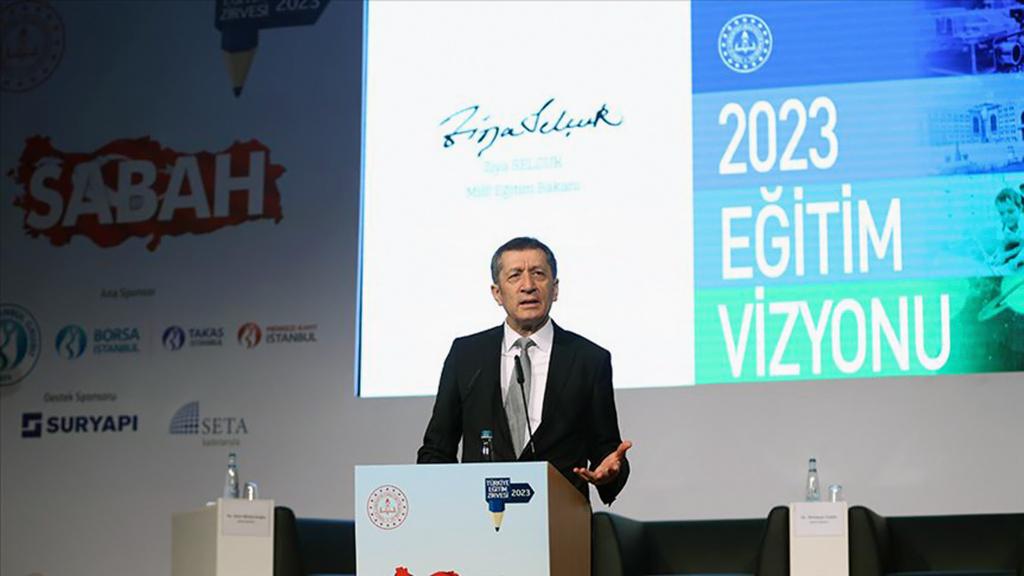 """Sabah gazetesi tarafından SETA Vakfı'nda düzenlenen """"Türkiye 2023 Eğitim Zirvesi""""nde konuşan Milli Eğitim Bakanı Ziya Selçuk, eğitimde somut olarak nasıl yol bir yol haritasının olması, ölçme, değerlendirme anlamında neler yapılması gerektiğinin çok açık olduğunu söyledi."""