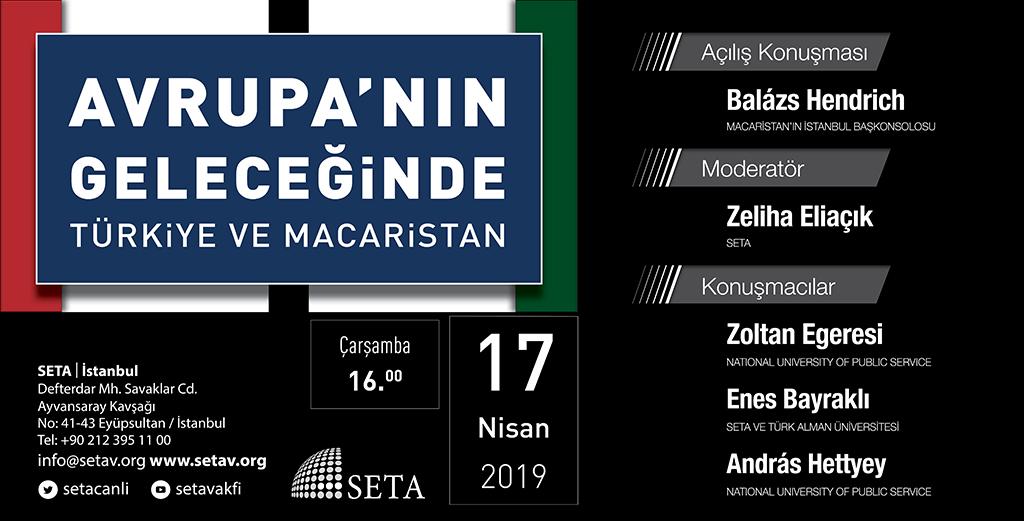 Panel: Avrupa'nın Geleceğinde Türkiye ve Macaristan