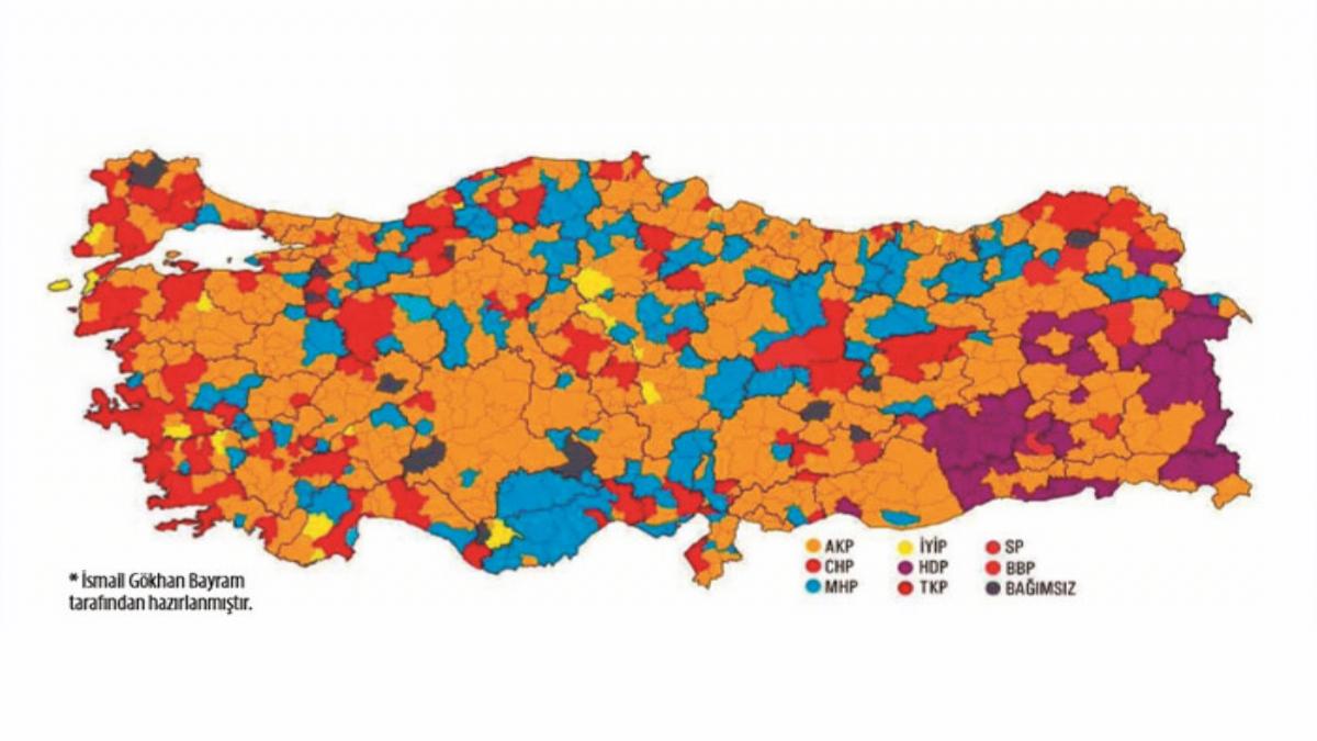 31 Mart Yerel Seçimlerinde Doğu ve Güneydoğu Oyları