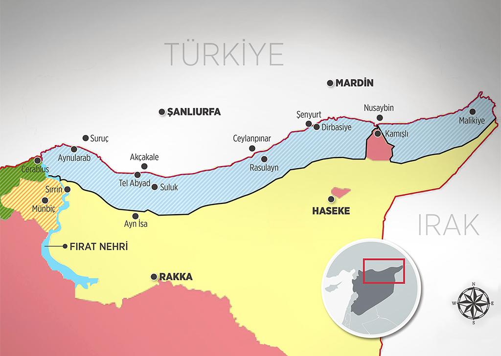 Analiz: Suriye'de Oluşturulacak Güvenli Bölgede Taraflar ve Tutumlar