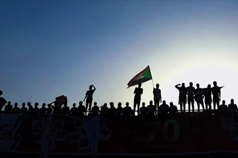 Sudanlı göstericiler