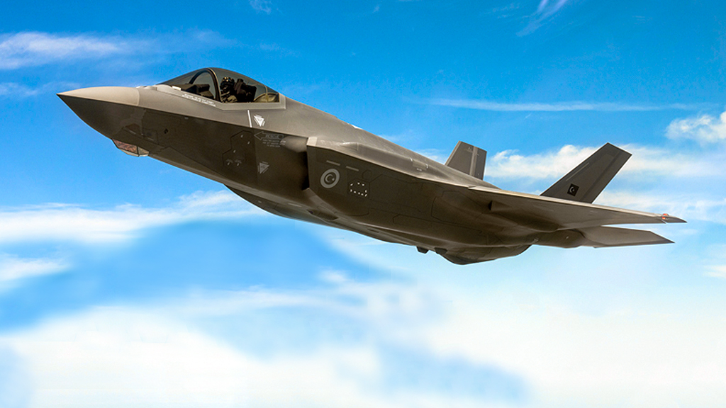 Türk Lockheed Martin F-35 Lightning II Savaş Jeti