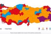 Türkiye Geneli Yerel Seçim Sonuçları | Harita