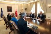 6 Mayıs 2019   Dışişleri Bakanı Mevlüt Çavuşoğlu (sağda), NATO Genel Sekreteri Jens Stoltenberg (solda) ile bir araya geldi.