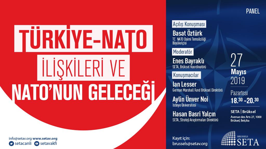 Panel: Türkiye-NATO İlişkileri ve NATO'nun Geleceği   SETA Brüksel