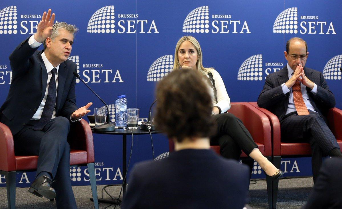 SETA Brüksel'de Türkiye-NATO İlişkileri Ele Alındı