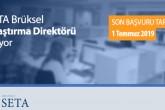 SETA Brüksel Araştırma Direktörü Arıyor!