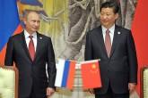 Rusya Devlet Başkanı Vladimir Putin, Çin Devlet Başkanı Xi Jinping ile