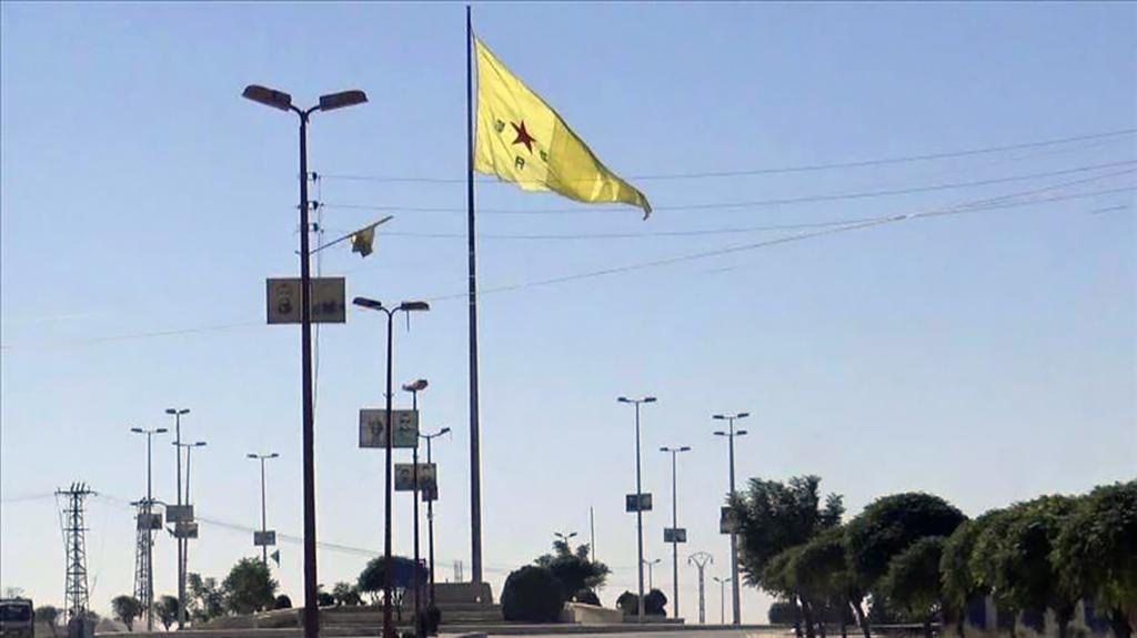 YPG - PKK Bayrağı Suriye