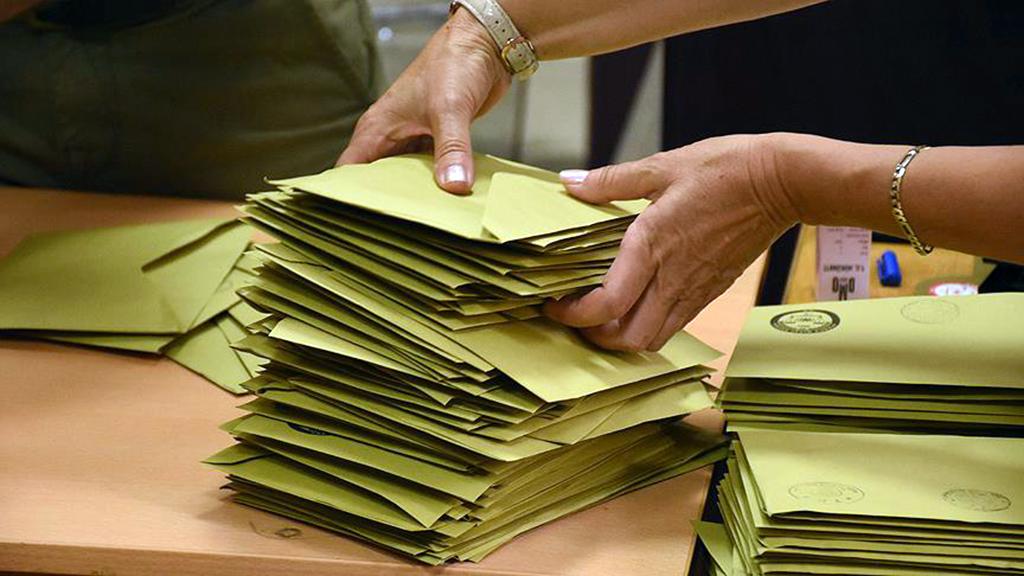 Yerel Yönetimler Oy Zarfları