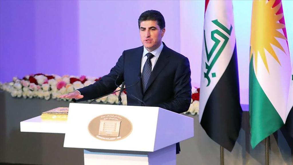 Irak Kürt Bölgesel Yönetimi (IKBY) Başbakanı Neçirvan İdris Barzani
