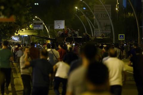 15 Temmuz 2016 gecesi Ankara